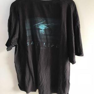 Salt life live salty 2003 mens T-shirt size 2XL